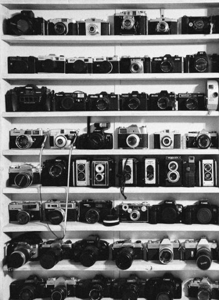 I want a wardrobe full of cameras!